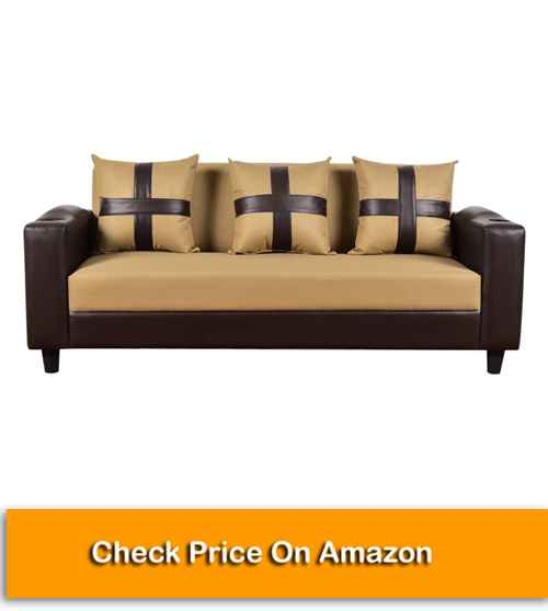 Furny Lifestyle 3 Seater Sofa Set with Cup