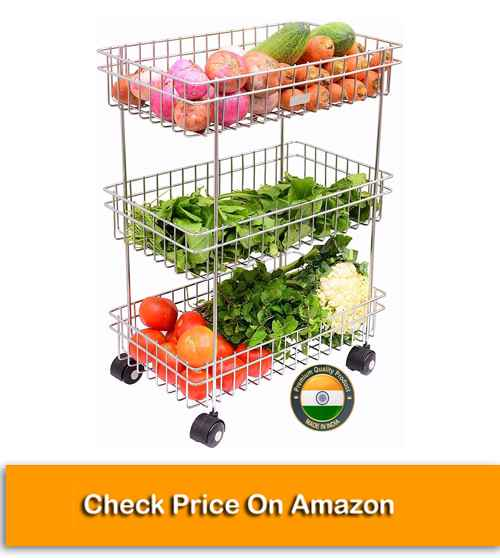 3 Layer Fruit and Vegetable Stand