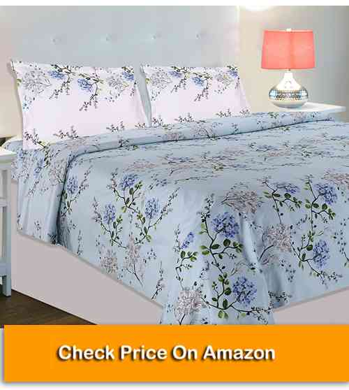 Double Bedsheet with 2 Pillow Covers, India